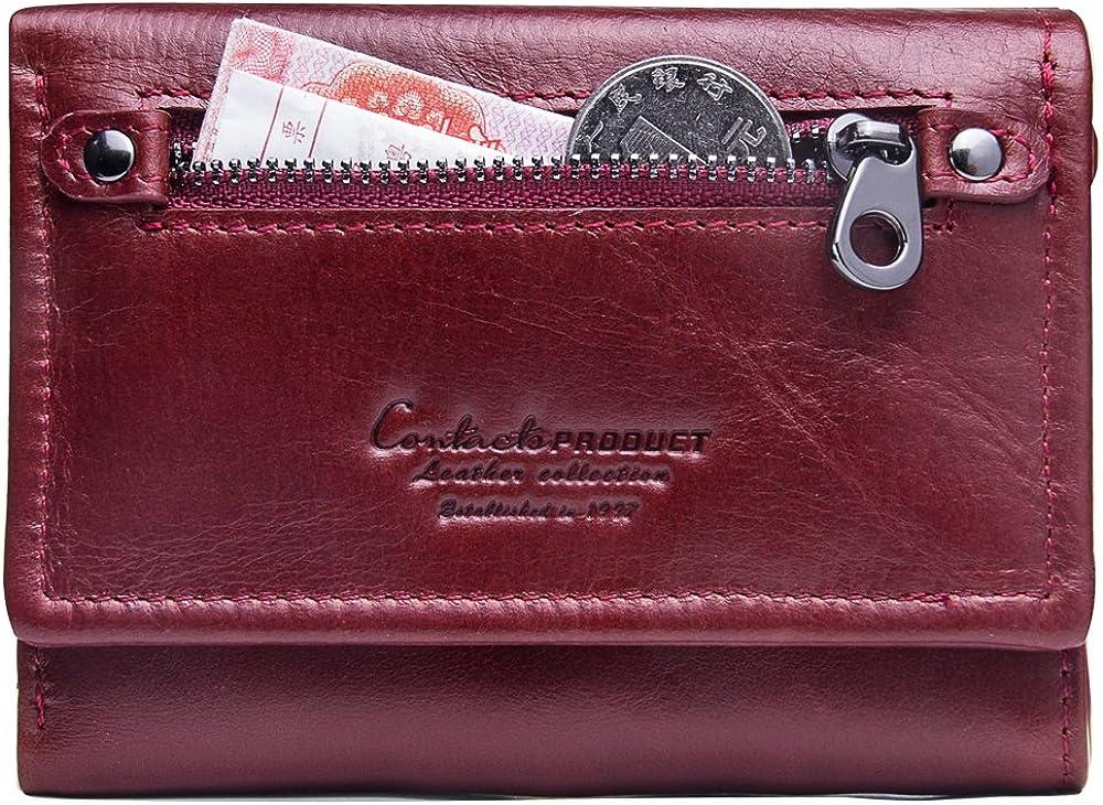 Contacts portafoglio porta carte di credito in pelle per donna 2.1