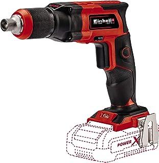 comprar comparacion Einhell 425998 Taladro atornillador para yeso TE-DY 18 LI- A batería, Rojo/Negro