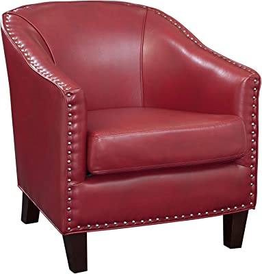 Amazon.com: Accent Swivel Chair Red: Kitchen & Dining