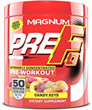Magnum Nutraceuticals PRE FO Pre Workout Powder (50 Servings) Candy Keys