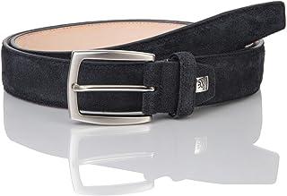 LINDENMANN LM leather belt for men leather belt made of cow suede leather, 35 mm wide and 3,8 mm strong, adjustable, belt,...