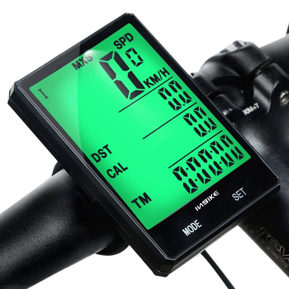 INBIKE Ordenador para Bicicleta, Ciclocomputador Inalámbrico 2.8 ...
