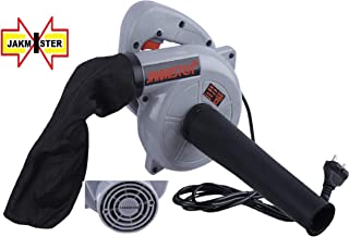 JAKMISTER 675 W, Unbreakable Plastic 16000RPM Electric Air Blower Dust PC Vacuum Cleaner (Standard Size, Grey)