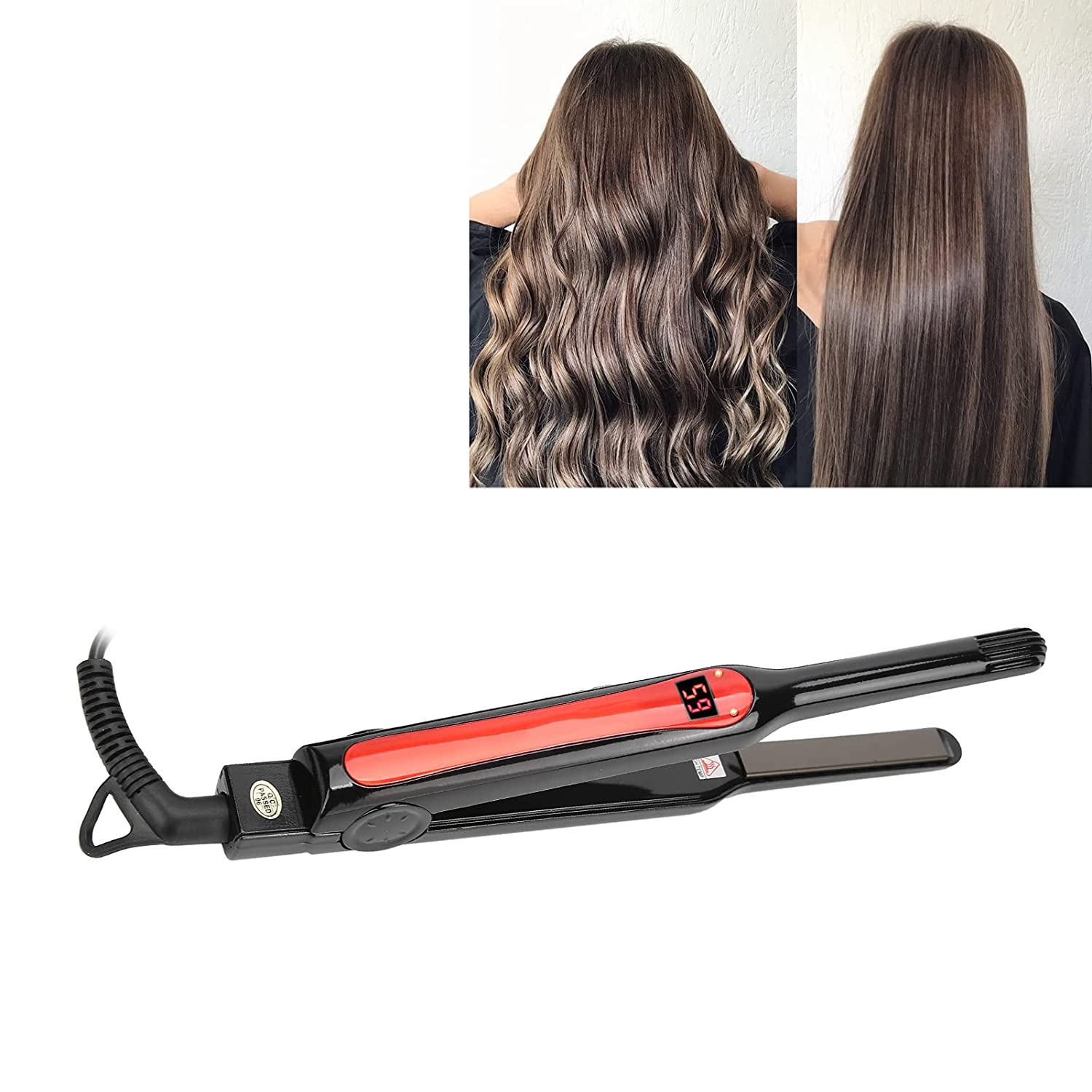 Great interest Hair Straightening specialty shop Iron Curler Durable Smart Temperature A