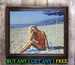 Pamela Anderson Baywatch Autographed Signed Reprint 8x10 Photo #45 Special Unique Gifts Ideas for Him Her Best Friends Birthday Christmas Xmas Valentines Anniversary Fathers Mothers Day