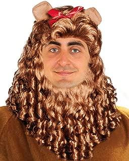 cowardly lion wig mane