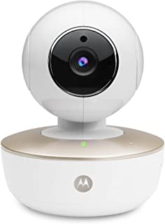 Motorola MBP88CONNECT Portable Wi-Fi Video Baby Camera with Remote Pan Tilt Zoom Two-Way Audio and Room Temperature Monito...