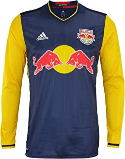 adidas Men's MLS Cllimacool Authentic Long Sleeve Jersey, Multiple Teams