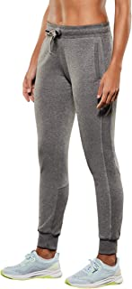 Lupo Women's Joggers Sweatpants with Pockets Cotton Workout Pants Active Yoga Casual