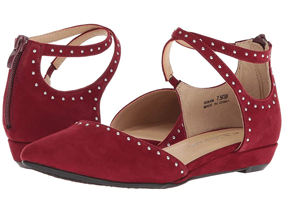 CL By Laundry Smile (Dark Cherry Red Suede) Women