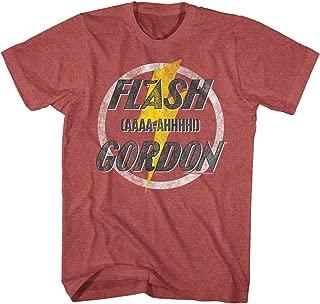 Flash Gordon Aaaa Mens Crew Tee T Shirt