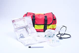 AEROcase GEFÜLLT - Notfalltasche Polyester Gr. S - Rettungsdienst Notfall Rucksack - Notfall Notfalltasche MIH Medical