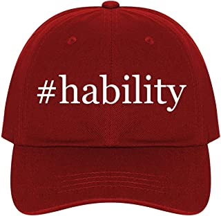 The Town Butler #Hability - A Nice Comfortable Adjustable Hashtag Dad Hat Cap