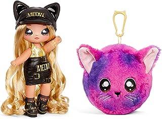 MGA Entertainment Na! Na! Na! Surprise 2-in-1 Fashion Doll and Plush Purse Series 3 – Sasha Scratch