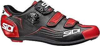 Sidi Alba Carbon Cycling Shoe - Men's Black/Red, 46.0