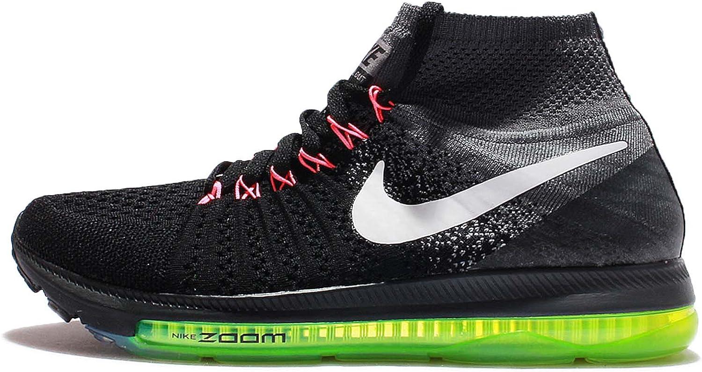 Nike kvinnor Zoomar ut allt allt allt Flyktigt svart  vit - cool grå woven Storlek 9  det senaste varumärket outlet online