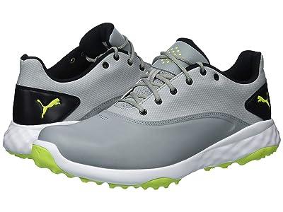 PUMA Golf Grip Fusion (Quarry/Acid Lime/Puma Black) Men