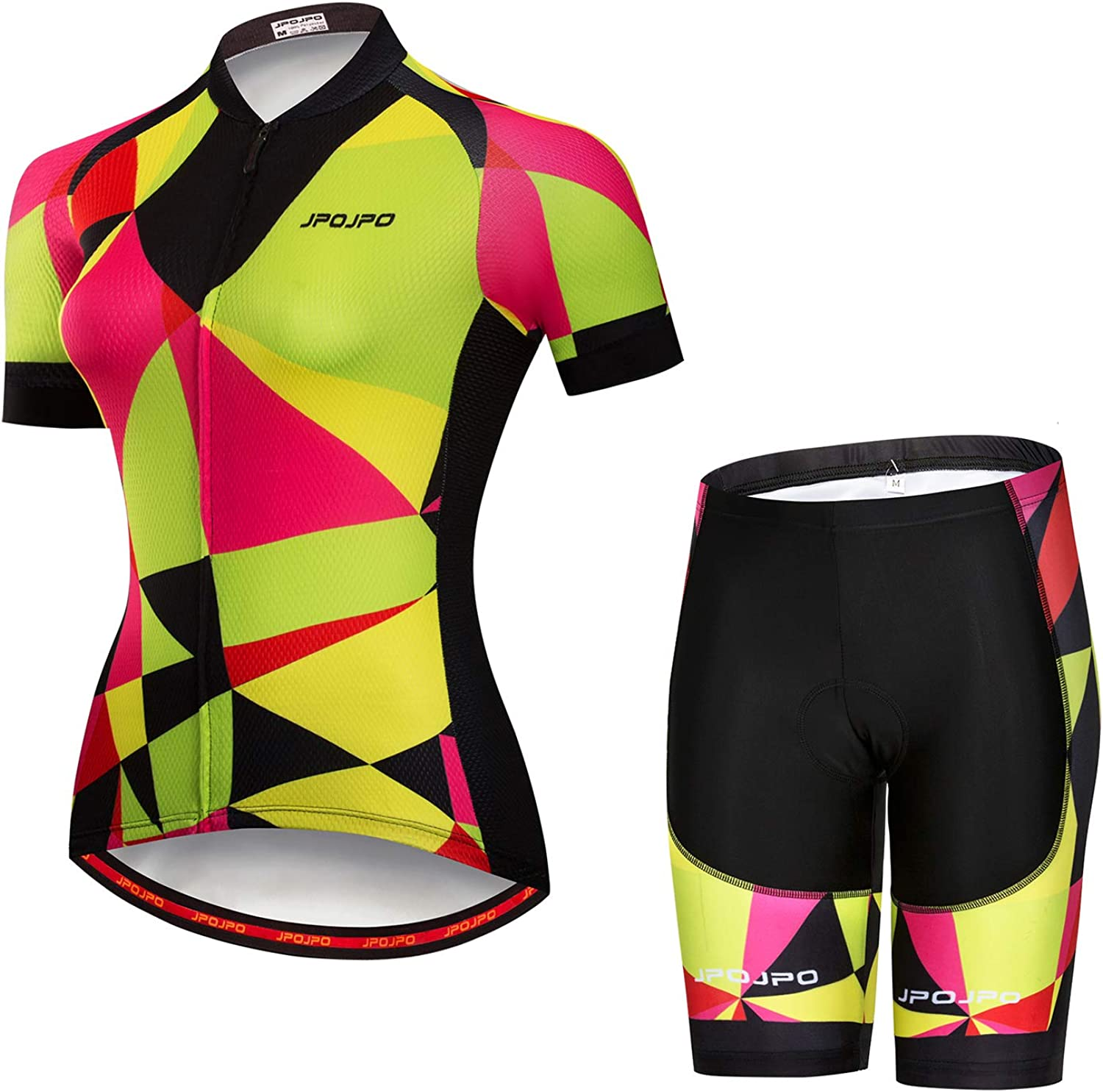 Weimostar Women's Cycling Jersey Shorts Sets Short Sleeve Reflective Breathable