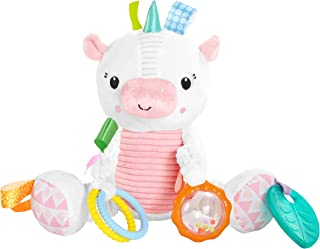Bright Starts Bunch-O-Fun Plush Activity Toy - Unicorn, Ages 3 months +