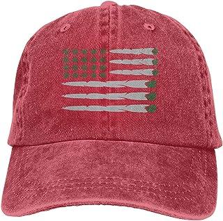 Ejdkdo Bandera de Marihuana Unisex Washed Vintage Cowboy Hat Denim Gorras de béisbol New5