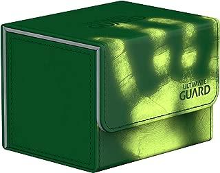 Ultimate Guard Deck Box: Sidewinder 100+ ChromiaSkin Green