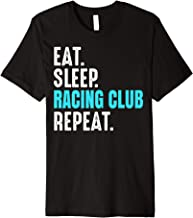 Racing Club Gift Eat Sleep Repeat Soccer Argentina Premium T-Shirt