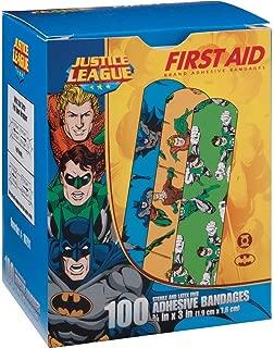Justice League 100CT Bandages 3/4x3