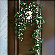 1 pak Roze Kunstmatige Rose Vine Garland, Nep Rose Vine Kunstbloemen Hangplanten, voor Thuis Kantoor Hotel Bruiloft Feest ...