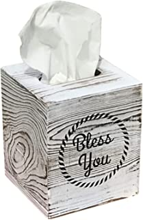 Rustic Barnwood Tissue Box Cover with