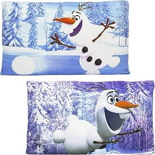 Disney Frozen Princess Olaf Kids Rectangular Pillow ( Set of 2)