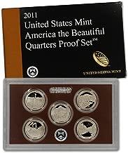 2011 S US Mint Quarters Proof Set OGP