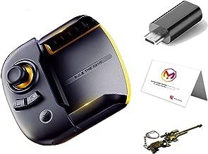 يد تحكم بالالعاب من فلاي ديجي اصدار مبتكر للايفون والاندرويد بتقنية البلوتوث مع محول من منفذ سي إلى مايكرو مع ميدالية مستوحاة من لعبة ببجي