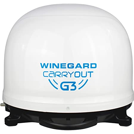 Winegard GM-9000 Carryout Automatic Satellite, White