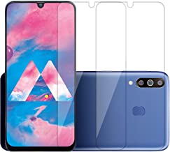 POPIO Tempered Glass for Samsung Galaxy M30 / M30s / A30 / A30s / A50 / A50s (Transparent) Full Screen Coverage (except edges), Pack of 2