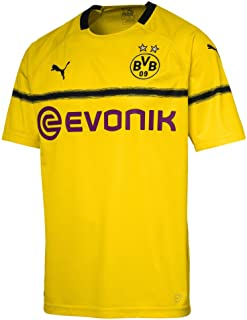 84075496f4cca Puma BVB Cup Shirt Replica with Evonik Logo Without Opel Maillots Homme
