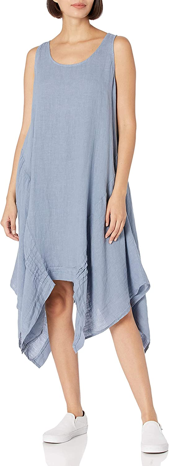 M Made in Italy Dress Discount is also underway Sleeveless Los Angeles Mall Women's