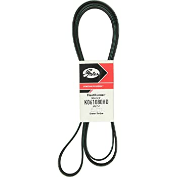 Serpentine Belt-FleetRunner Heavy Duty Micro-V Belt Gates K061077HD