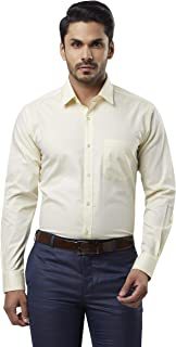 Raymond Men's Plain Regular fit Formal Shirt