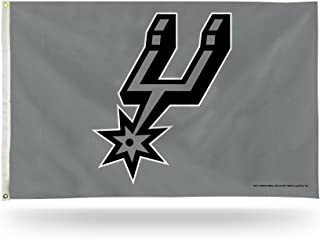 Best NBA Rico Industries 3-Foot by 5-Foot Single Sided Banner Flag with Grommets, San Antonio Spurs Review