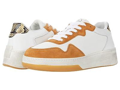 Loeffler Randall Keira Low Top Sneakers (Sahara/Tan) Women