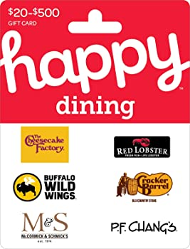 $50 Happy Dinning Gift Card