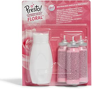 Amazon-merk: Presto! Floral luchtverfrisser Aereosol & navulverpakking