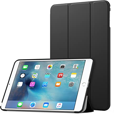 MoKo Case Fit iPad Mini 4 - Slim Lightweight Smart Shell Stand Cover Case with Auto Wake/Sleep Fit Apple iPad Mini 4 (2015 Edition) 7.9 inch iOS Tablet, Black