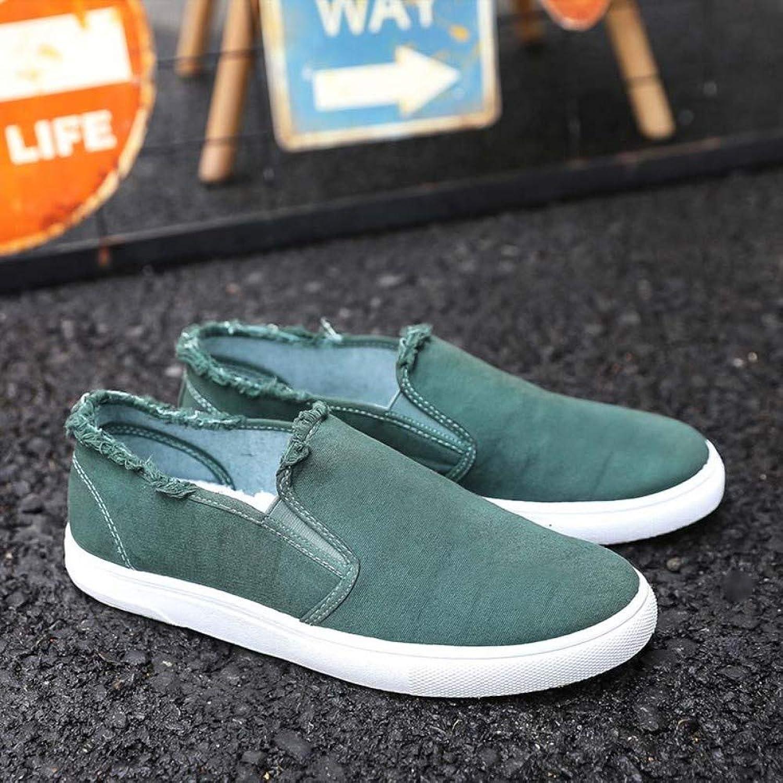 YOPAIYA Casual shoes Men Slip On Loafers Men Comfortable Canvas Mans Footwear orange Washed Tenis Men shoes