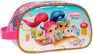 Shimmer and Shine Wish Adaptable Beauty Case Multicoloured 24x14x10 cms Microfiber with PVC Front
