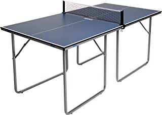 JOOLA Midsize - Regulation Height Table Tennis Table Great for Small Spaces and Apartments