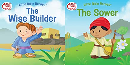 The Wise Builder/The Sower (flip-over) (Little Bible Heroes™)