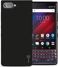 CoverON Slim Fit TPU Rubber FlexGuard Series for BlackBerry KEY2 LE Case, Gloss Black