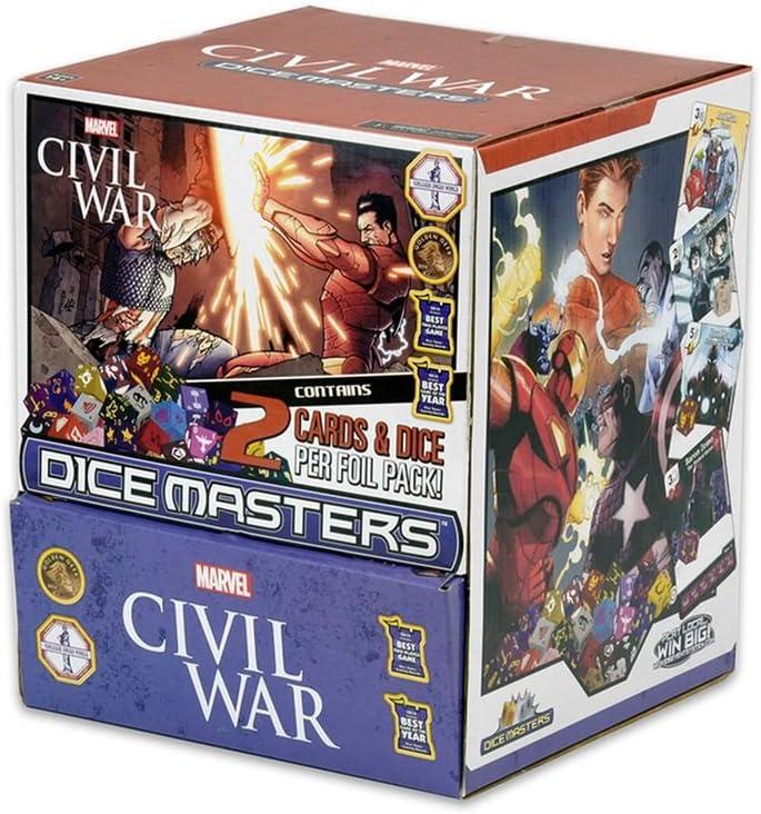 Civil War Gravity Feed Display Marvel Dice Masters