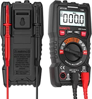 KAIWEETS 4000 Counts TRMS Auto-Ranging Digital Multimeter/Ohmmeter/Voltmeter Diode..